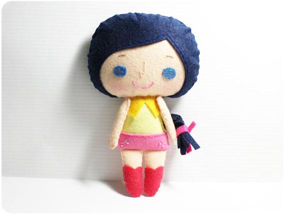 Connie girl - PDF Doll Pattern