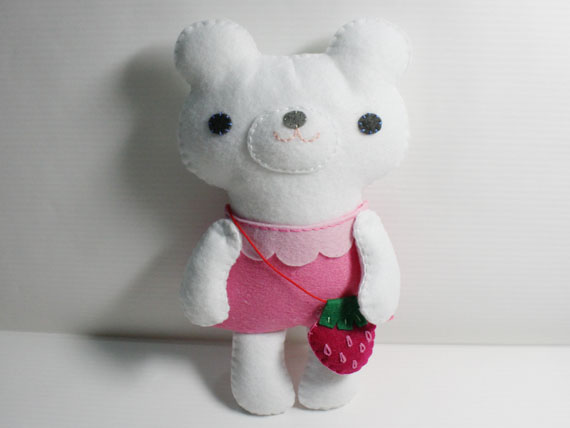Little Polar Bear - PDF Doll Pattern